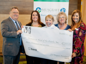Musgrave Grant Donation