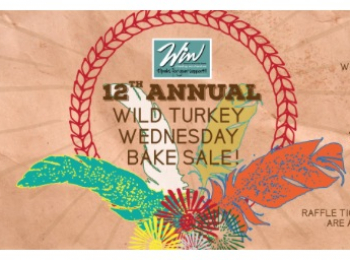 Wild Turkey Wednesday – WIN Bakesale